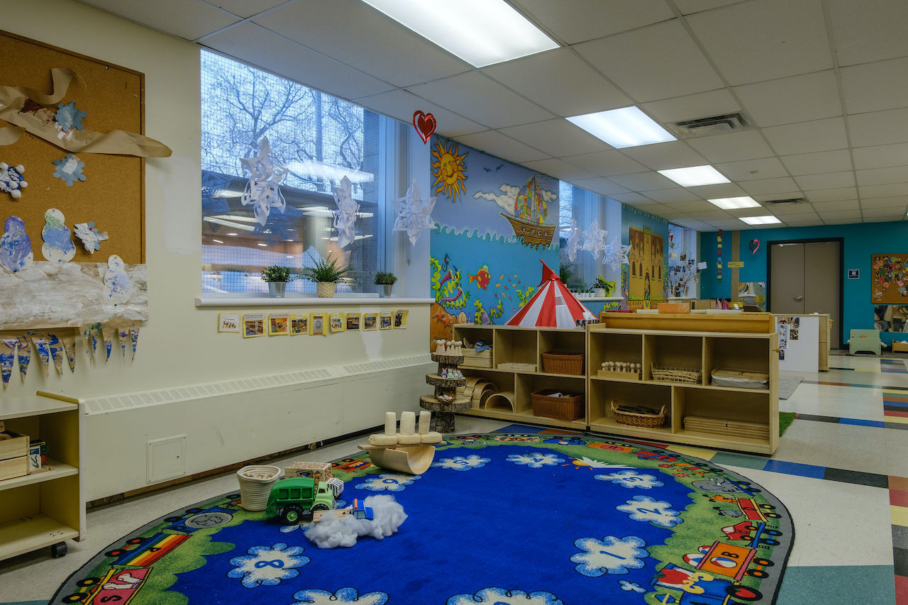 Glebe Co-operative Nursery School carpet
